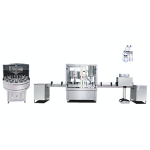 BF-2000 Bottle washing, filling and capping machine
