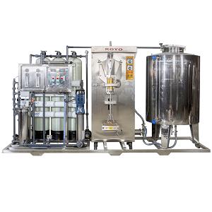Sachet pure water prodution line