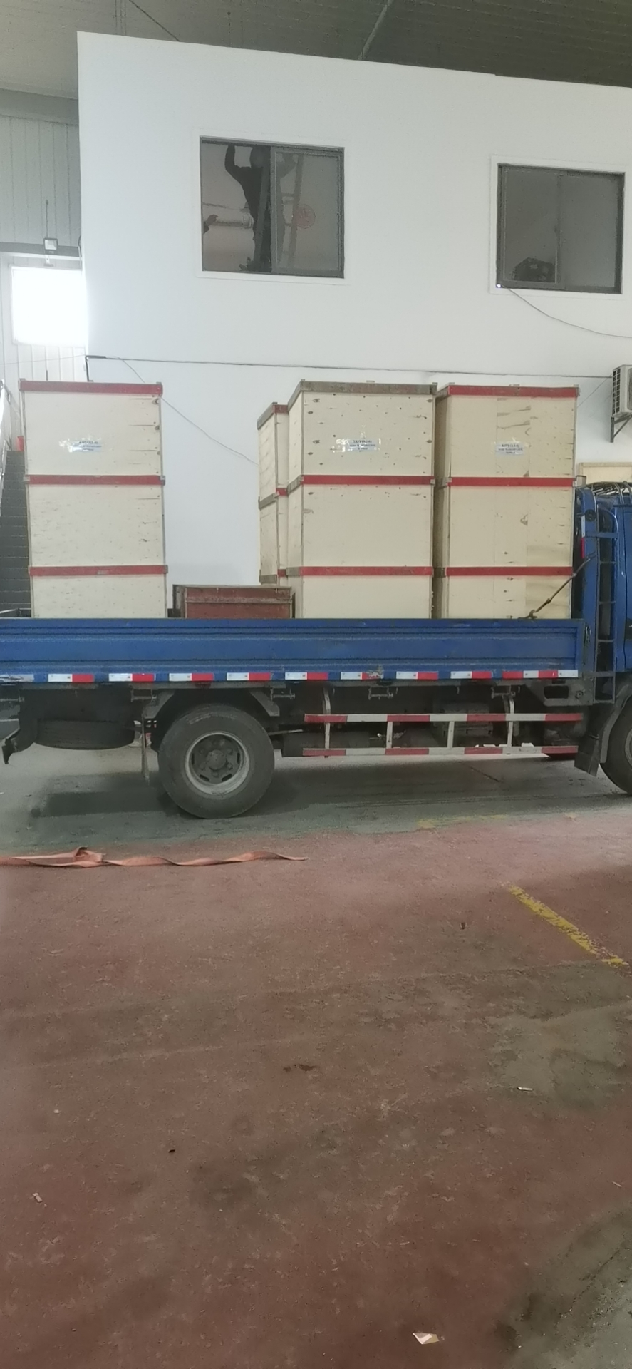 5 KOYO  sachet water packing machines sent to Guangzhou warehouse (for export to Liberia)
